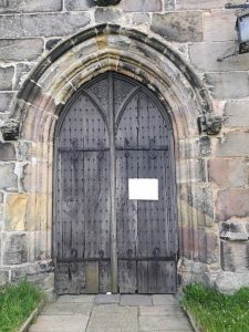 St Mary's Church west door