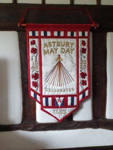 Astbury May Day banner