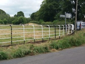 Photo: cheshire railings after restoration