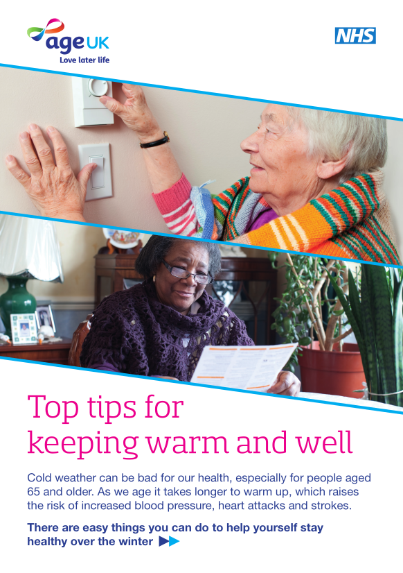 Image of Help the Aged leaflet, linking to PDF